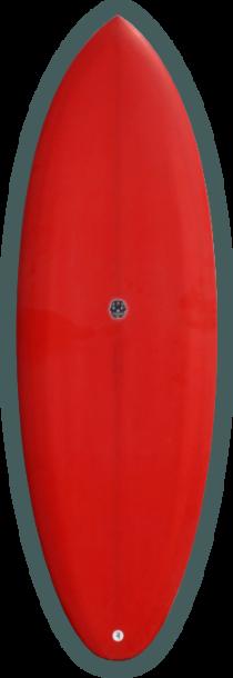 パフォーマンス性の高いオルタナティブ・ボードを追及するエリックの代表作。 スケーティーな乗り味が特徴。基本はラウンドテールだが、スクエア、スカッシュもあり。